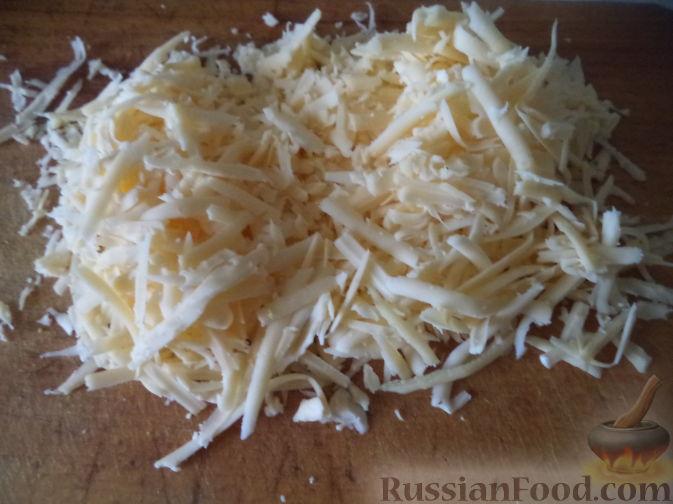 Фото приготовления рецепта: Суп с тыквой, шампиньонами и вермишелью - шаг №8