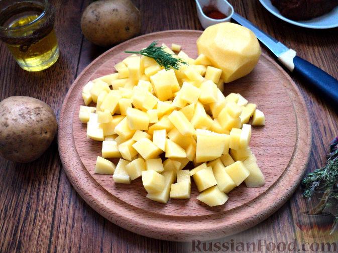 Фото приготовления рецепта: Картофельный суп-пюре - шаг №3