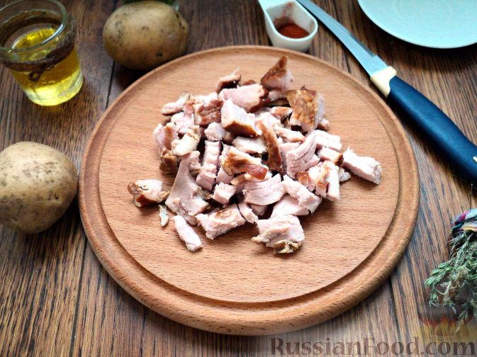 Фото приготовления рецепта: Картофельный суп-пюре - шаг №4