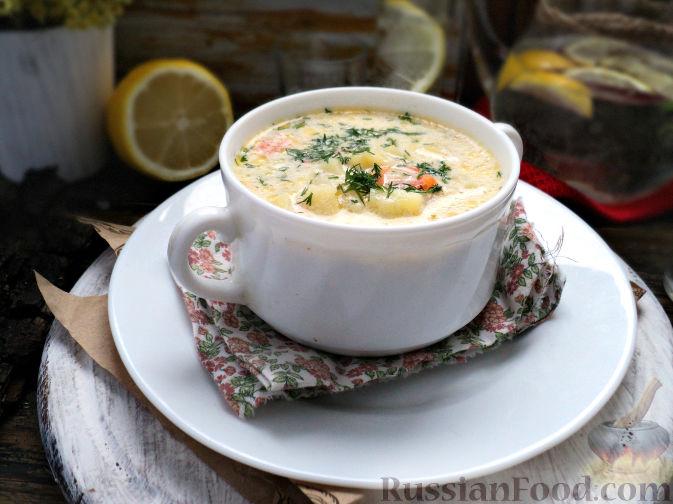 Фото приготовления рецепта: Картофельный суп-пюре - шаг №14