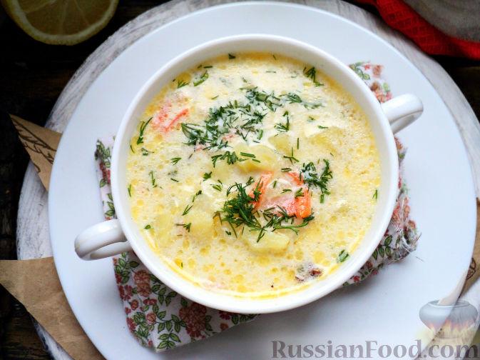 Фото приготовления рецепта: Картофельный суп-пюре - шаг №13