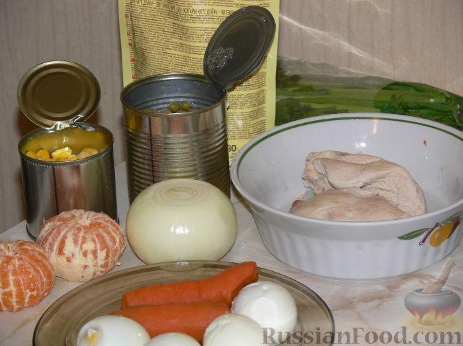 Фото приготовления рецепта: Салат «Полянка» - шаг №1