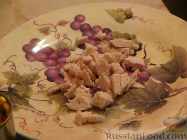 Фото приготовления рецепта: Салат «Полянка» - шаг №2