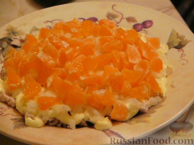 Фото приготовления рецепта: Салат «Полянка» - шаг №4