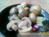 Фото к рецепту: Шампиньоны, маринованные с луком