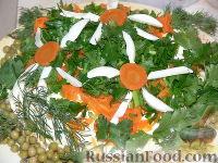 Фото к рецепту: Салат «Полянка»