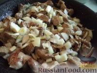 Фото приготовления рецепта: Желудки куриные в сметане - шаг №5