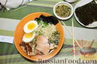 "Фото к рецепту: Азиатскимй суп ""Кимчи Рамен"""