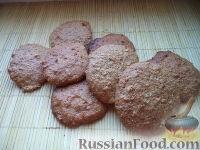 """Фото к рецепту: Печенье из """"Геркулеса"""""""