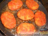 Фото приготовления рецепта: Котлеты морковные - шаг №11
