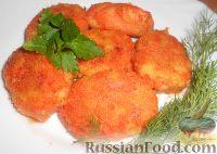 Фото приготовления рецепта: Котлеты морковные - шаг №12