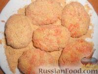 Фото приготовления рецепта: Котлеты морковные - шаг №9