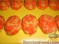 Фото приготовления рецепта: Котлеты морковные - шаг №8