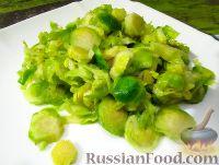 Фото к рецепту: Маринованная брюссельская капуста