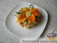 """Фото к рецепту: Салат с чипсами """"Прощай, фигура"""""""