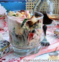 Фото к рецепту: Салат с ветчиной