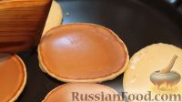 Фото приготовления рецепта: Панкейки (американские блинчики) - шаг №7