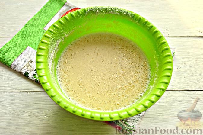 Фото приготовления рецепта: Шоколадный пирог из фасоли (без муки) - шаг №4