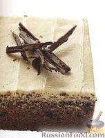 Фото к рецепту: Шоколадный пирог с кофейным кремом