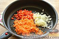Фото приготовления рецепта: Макароны с отварной говядиной и овощами - шаг №2