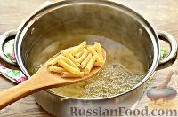 Фото приготовления рецепта: Макароны с отварной говядиной и овощами - шаг №4