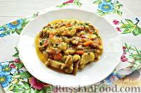 Фото к рецепту: Азу со свининой и болгарским перцем