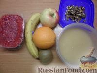 Фото приготовления рецепта: Фруктовый салат в апельсине - шаг №1