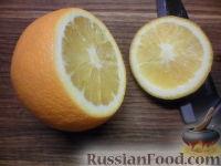 Фото приготовления рецепта: Фруктовый салат в апельсине - шаг №2