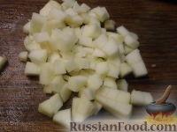 Фото приготовления рецепта: Фруктовый салат в апельсине - шаг №6