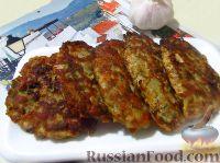 Фото к рецепту: Мясные оладьи