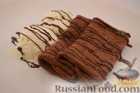 Фото к рецепту: Шоколадные блинчики