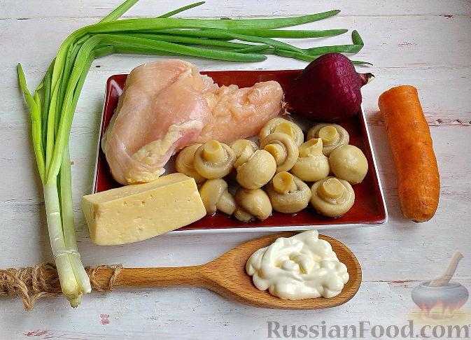 Цезарь с креветками и тунцом рецепт