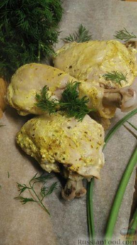 курица со сметаной в мультиварке фото рецепта