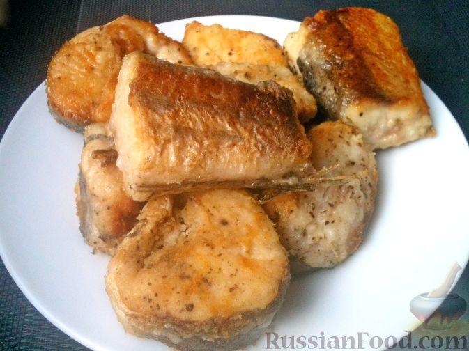 Рецепт жареного хека с фото