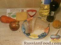 """Фото приготовления рецепта: """"Просто рыба"""" с сыром - шаг №1"""