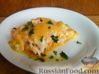 """Фото приготовления рецепта: """"Просто рыба"""" с сыром - шаг №12"""