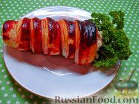 Фото к рецепту: Мясной салат «Морковка»