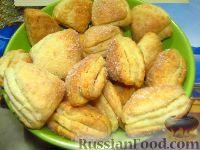 Фото к рецепту: Песочно-творожное печенье с кокосовым ароматом