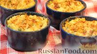 Фото к рецепту: Воздушное картофельное суфле с сыром