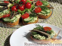 Фото приготовления рецепта: Бутерброды со шпротами - шаг №8