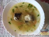 Фото к рецепту: Щи с рыбными консервами