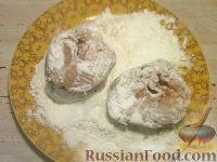 Фото приготовления рецепта: Хек жареный - шаг №4
