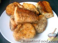 Фото приготовления рецепта: Хек жареный - шаг №6