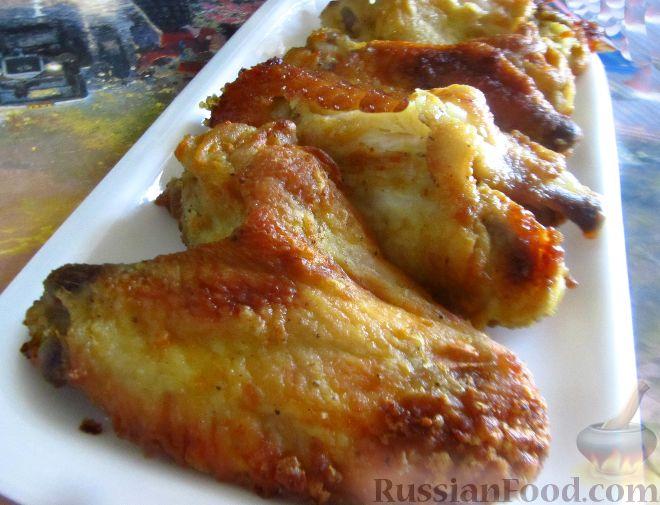 крылышки в горчичном соусе в духовке рецепт