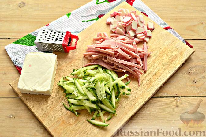 шаурма в домашних условиях рецепт с фото из колбасы