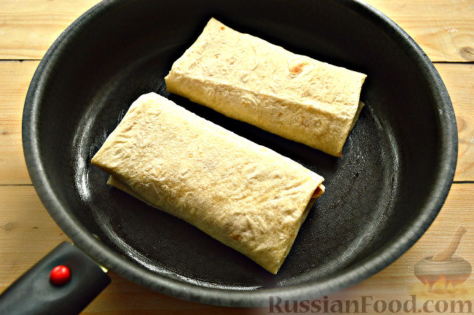 Шаурма с колбасой рецепт с фото пошагово