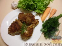 Фото приготовления рецепта: Куриные окорочка в панировке - шаг №6