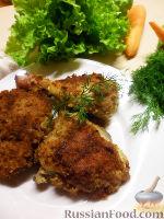 Фото приготовления рецепта: Куриные окорочка в панировке - шаг №7