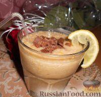 Фото к рецепту: Фруктовый смузи с овсянкой