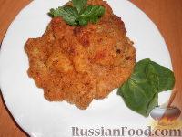 Фото к рецепту: Венский шницель из говядины